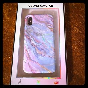 Velvet Caviar protective iPhone X and XS case